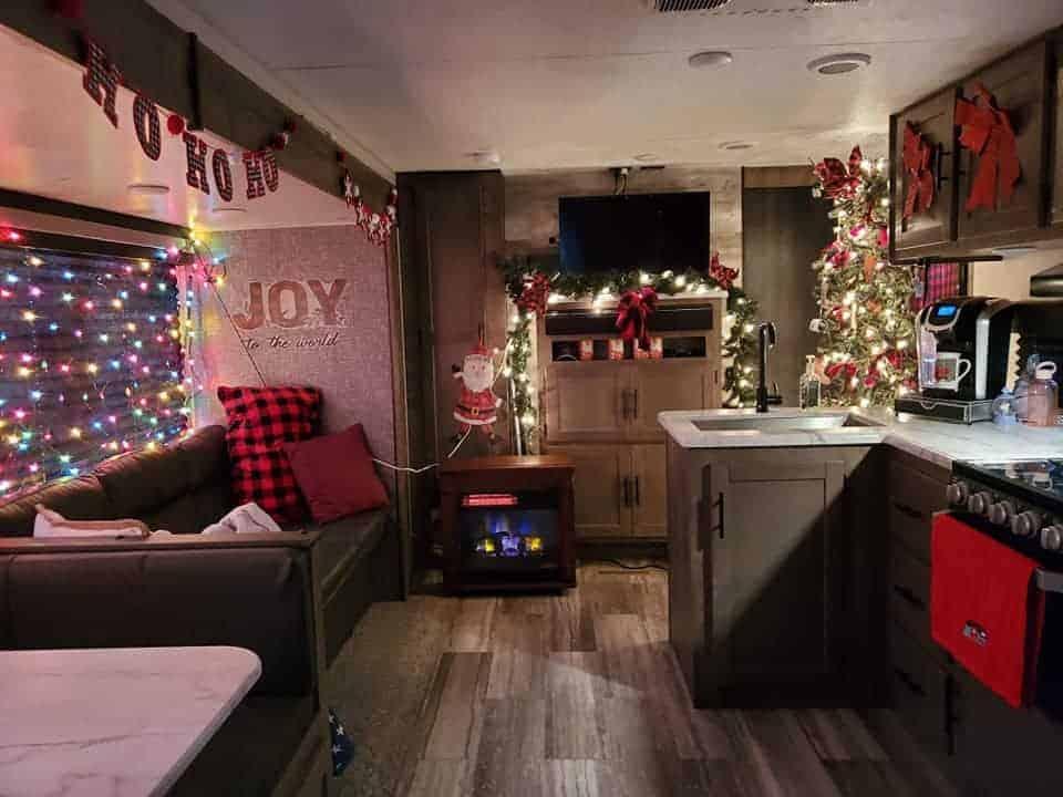 Christmas Themed Interior