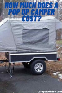 How Much does a pop up camper cost