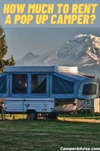 How Much to Rent a Pop Up Camper