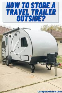 How to Store a Travel Trailer Outside
