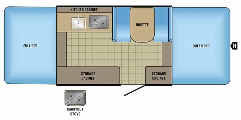 Jayco Jay Sport Floorplan