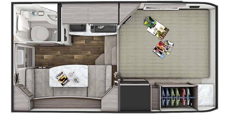Lance 650 Floorplan