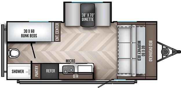 Palomino PaloMini Floorplan