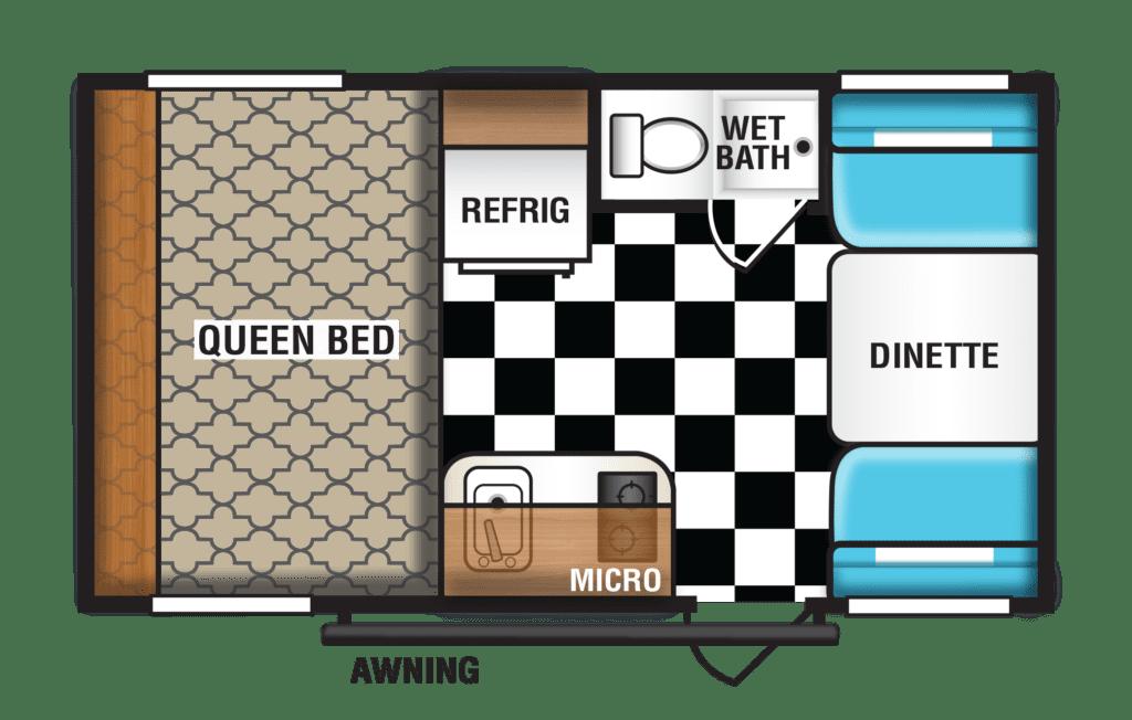 Riverside Retro Floorplan