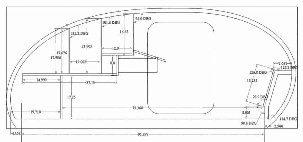 Topo Series Escapod Floorplan