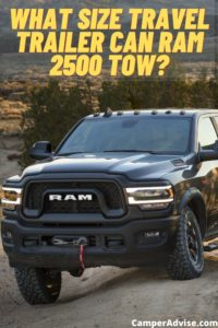 What Size Travel Trailer Can RAM 2500 Tow