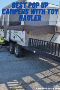 pop up toy hauler