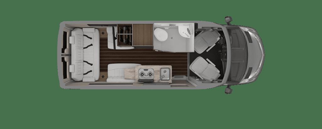 Airstream Interstate 19 Floorplan