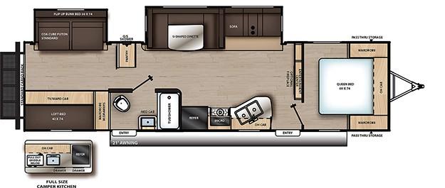Coachmen Catalina floorplan