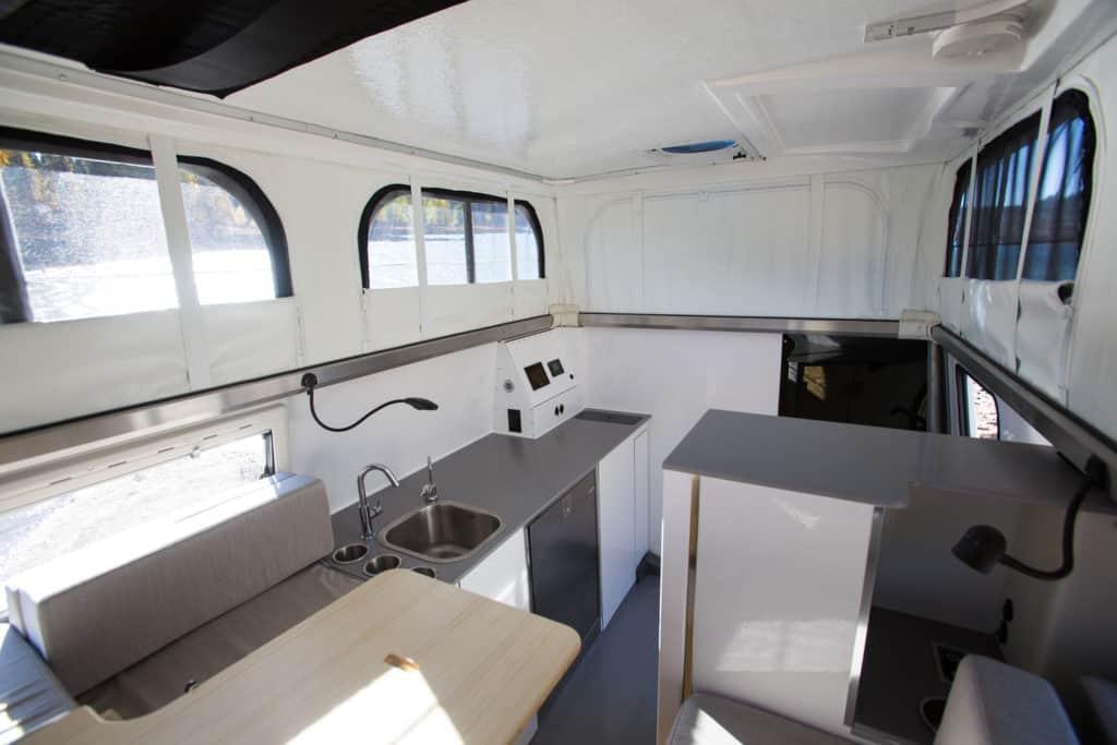 Earth Cruiser EXD Interiors