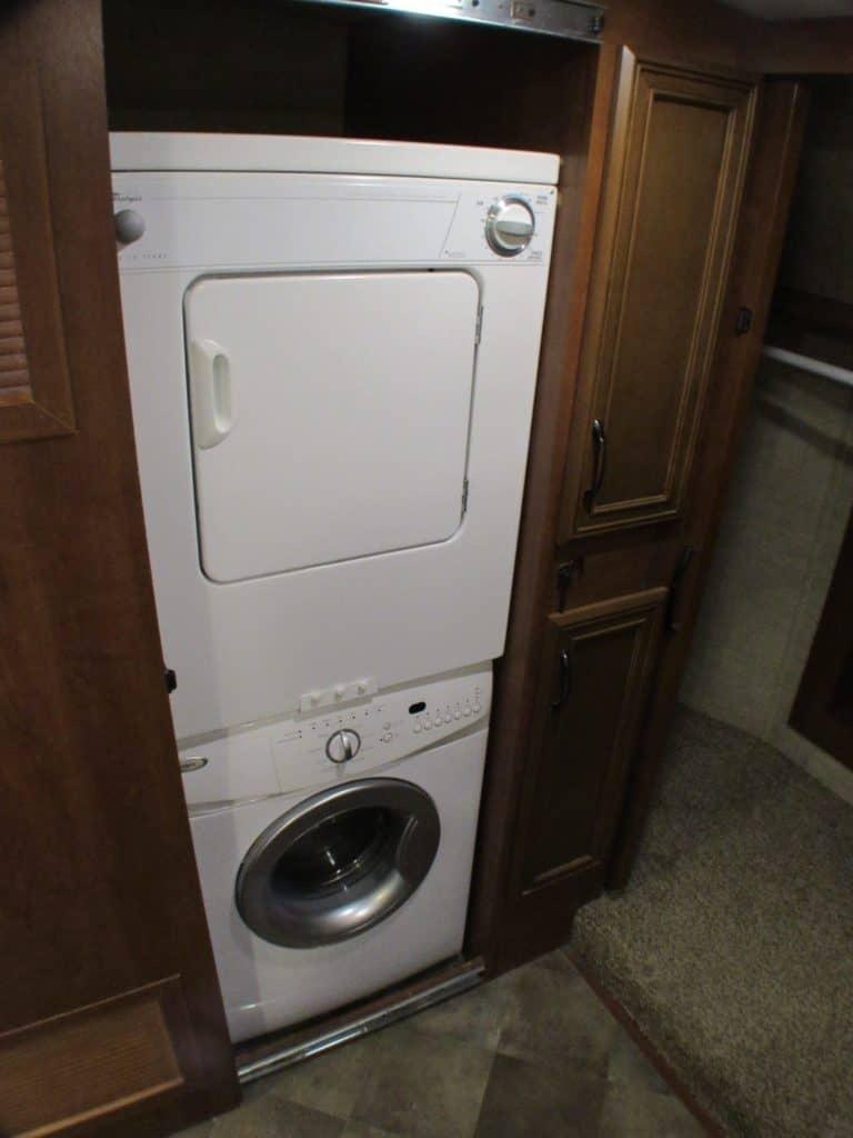 Forest River Sandpiper 378FB washer dryer