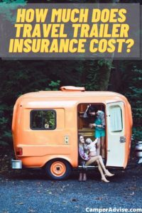 How much does travel trailer insurance cost