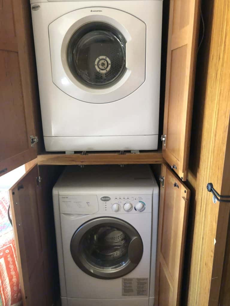 Jayco Seneca Washer Dryer