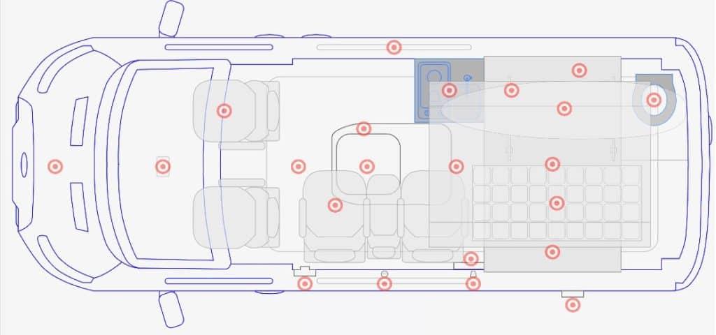 ModVans Floorplan