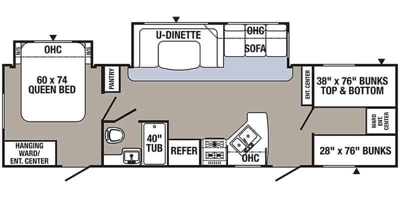Palomino Puma Floorplan
