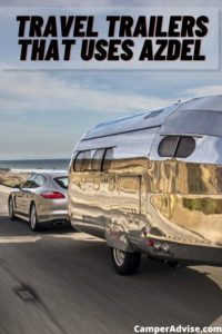 travel trailers that uses Azdel