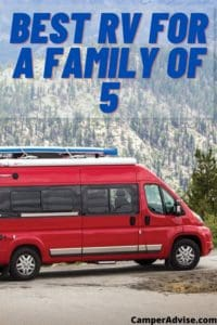 Best RV for a Family of 5
